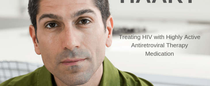 A man with phase of HAART - treating HIV