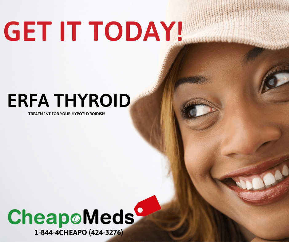A smiling woman with phase of ERFA THYROID
