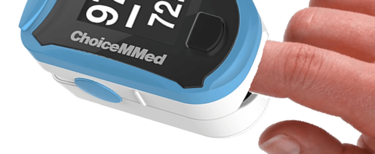 Oximeter with brand of ChoiceMMed,