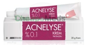 A box and tube of acnelyse 0.1% 20g