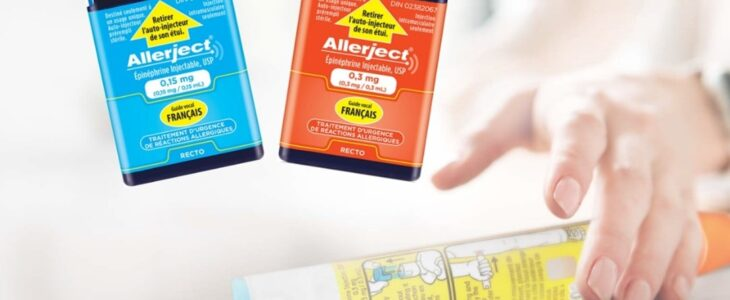 Two box of Allerject 1.15mg and 0.3mg.